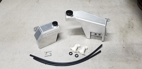 89-94 R32 Nissan Skyline Aluminum Coolant Overflow & Wiper Reservoir Combo