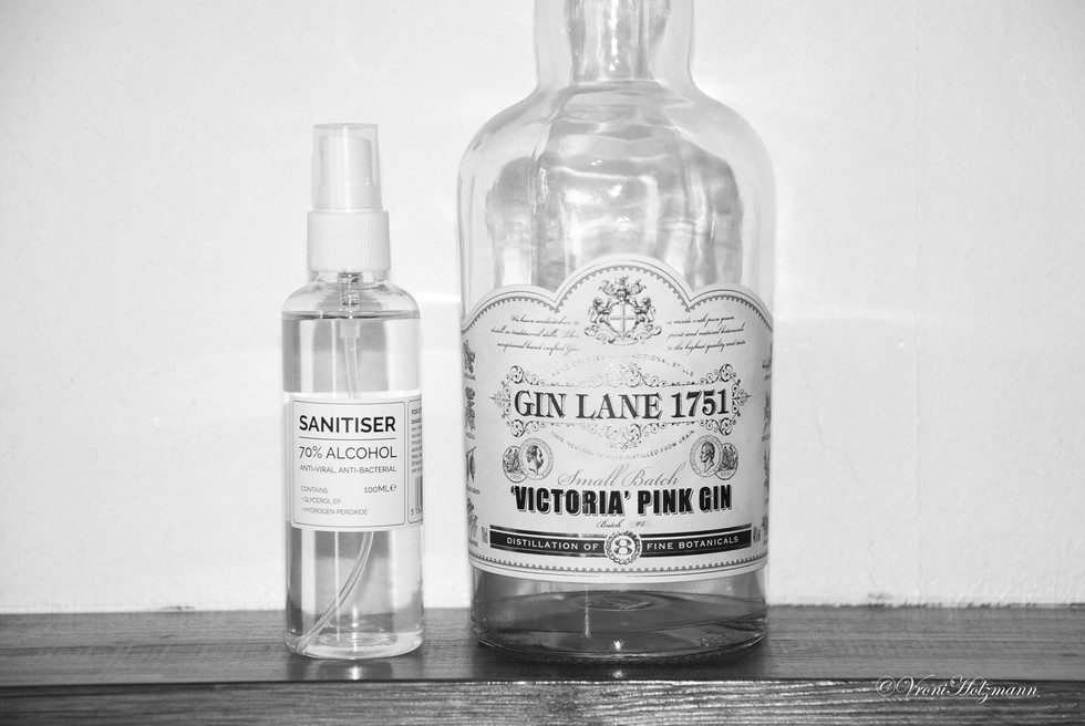 Sanitiser is Made From Gin