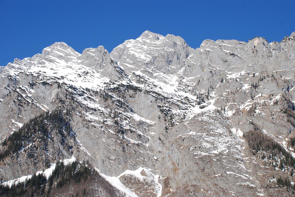 Alpine Rock Face