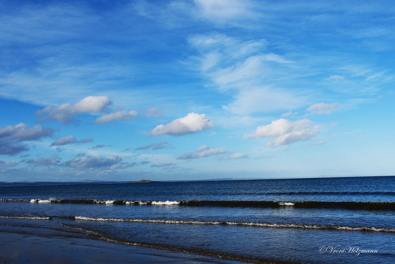 Portobello Beach on a Gorgeous Day