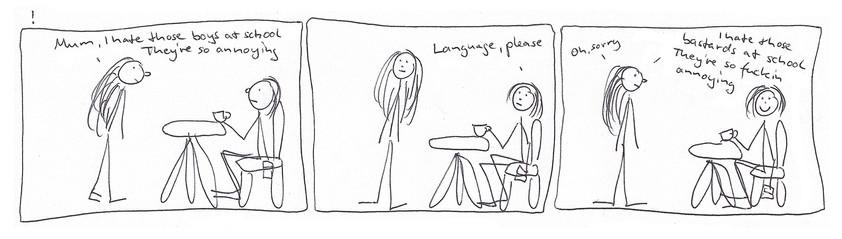 Language please !