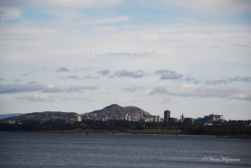 Edinburgh from Queensferry