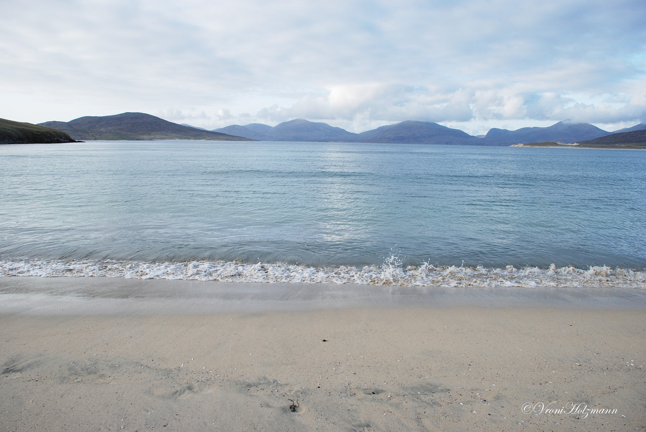 Beach in the Outer Hebrides