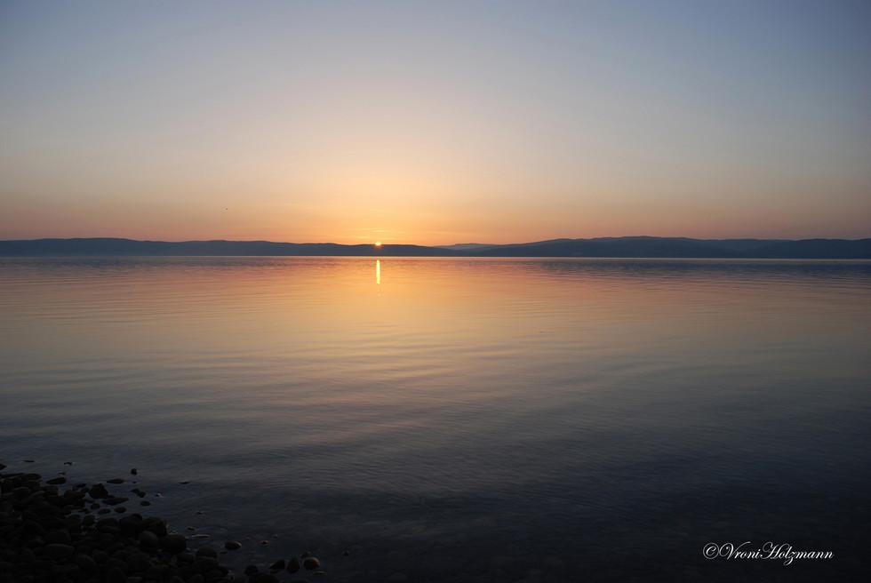 Sunset on the Isle of Arran