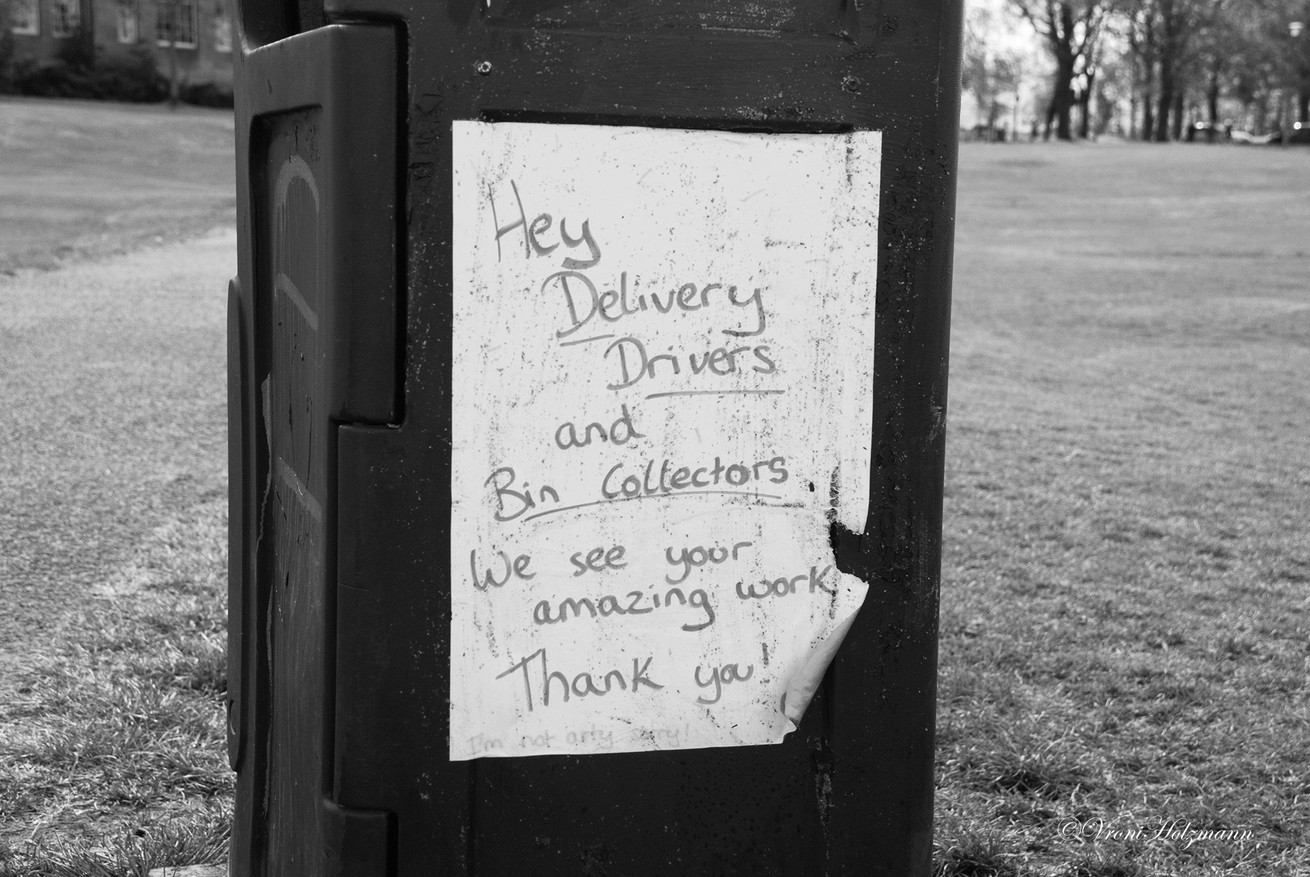 Thank You to the Bin Collectors