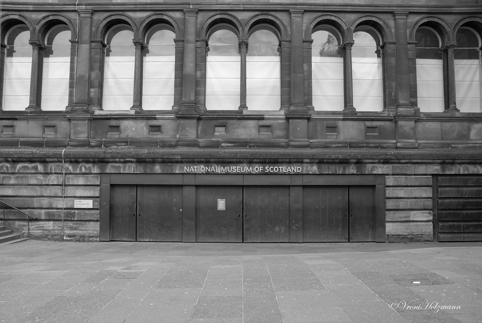 The National Museum's Doors are Closed
