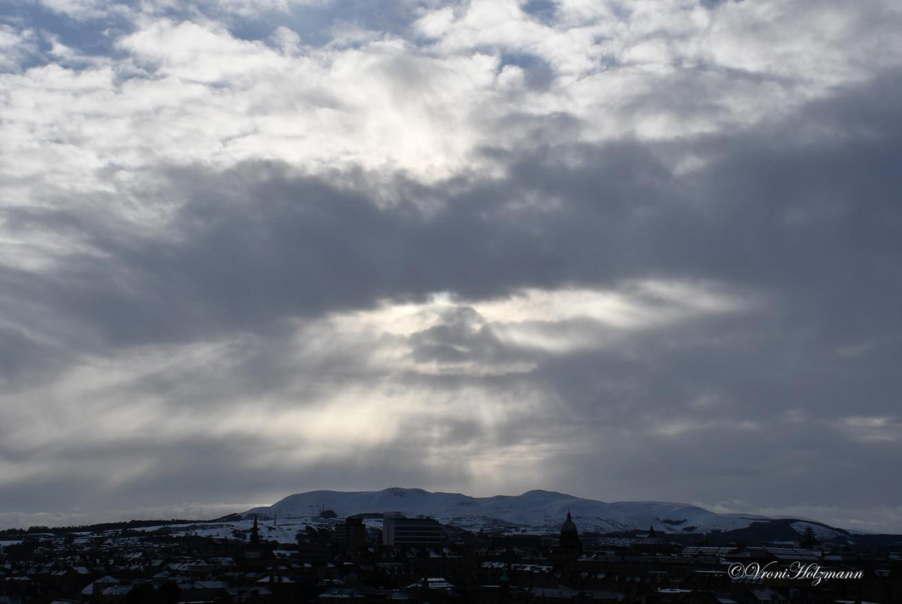 Clouds over Edinburgh