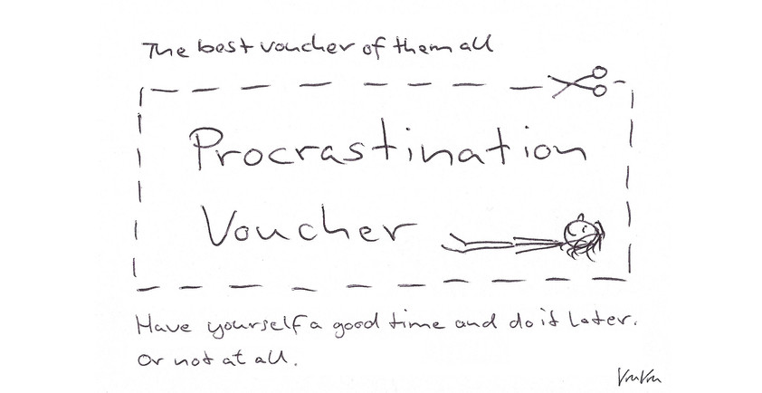 Procrastination Voucher