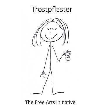 Trostpflaster - Logo with text - 30 sep