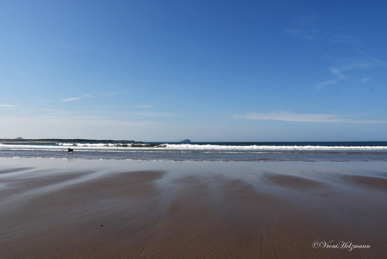 Belhaven Beach near Dunbar