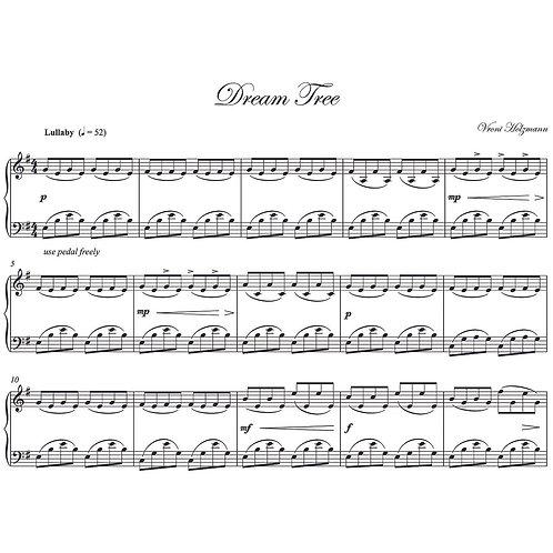 Dream Tree - Piano Score