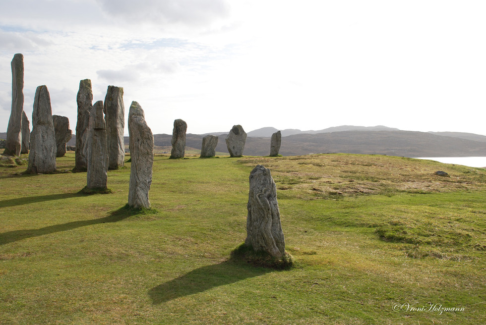 Standing Stones on the Isle of Lewis