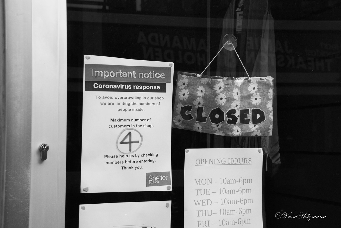 The Charity Shop is Closed