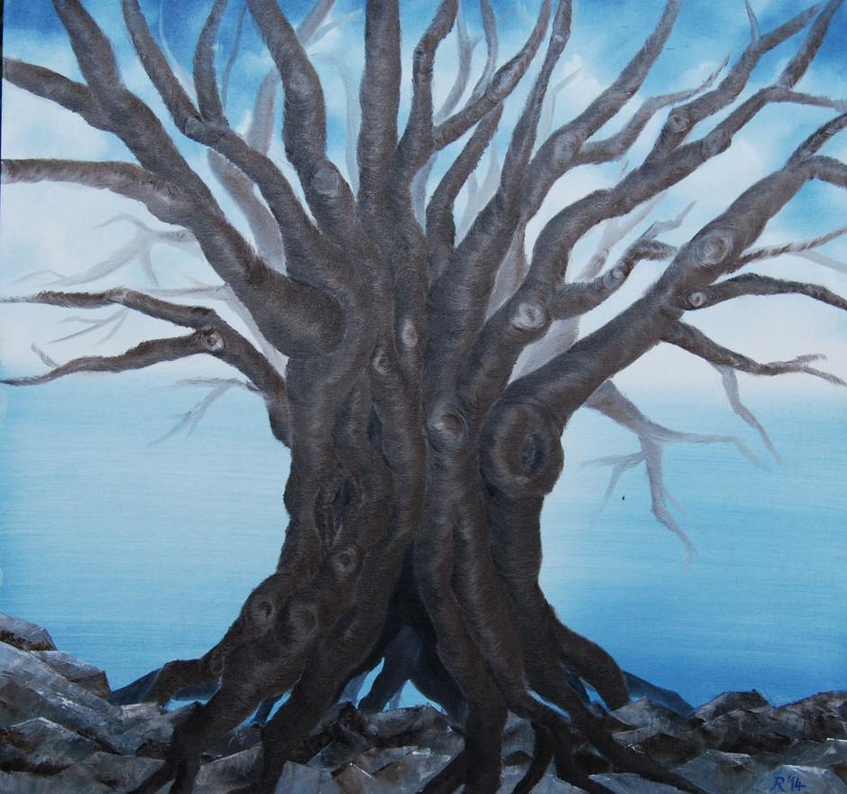 Dream Tree in Darkness
