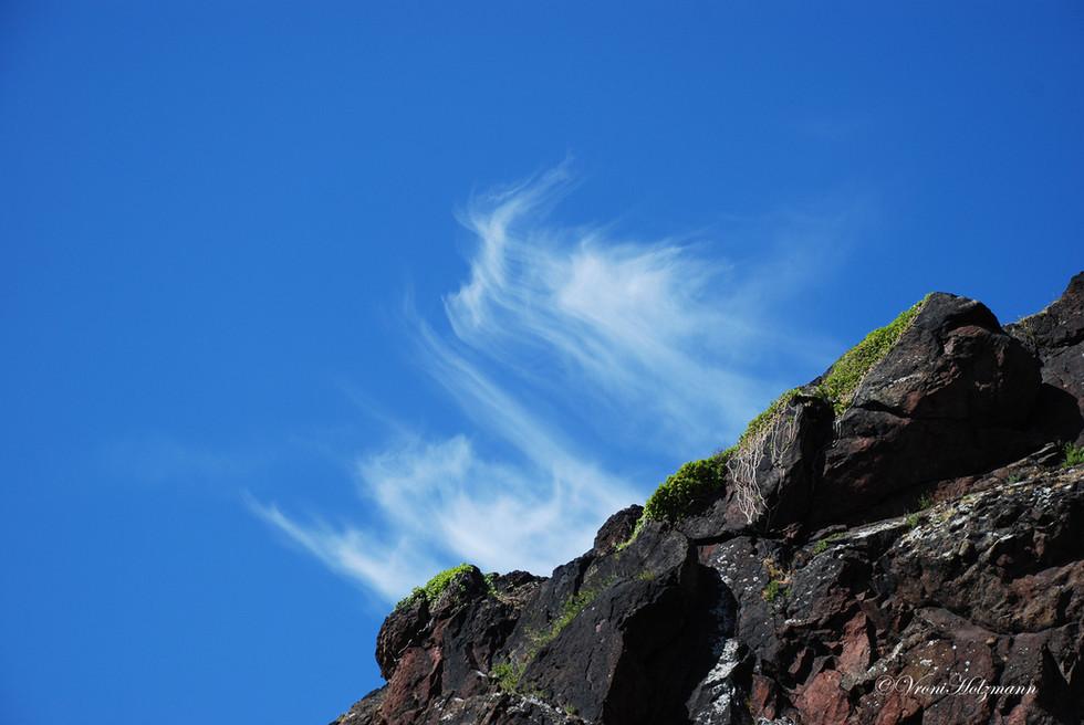 Vulcanic Rock on Arthurs Seat