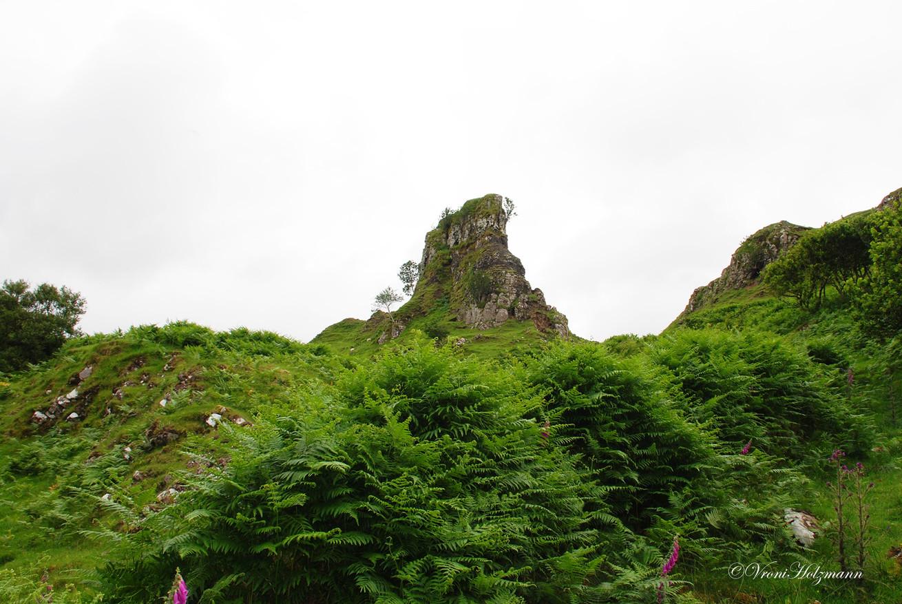 The Fairy Glen on the Isle of Sky-