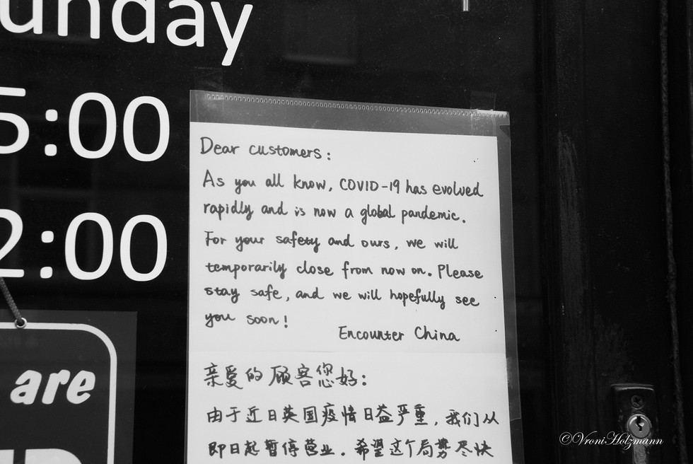 The Chinese Restaurant is Closed