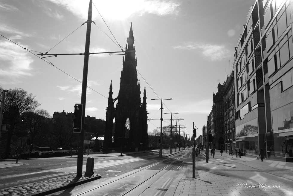 Princes Street East End is Empty
