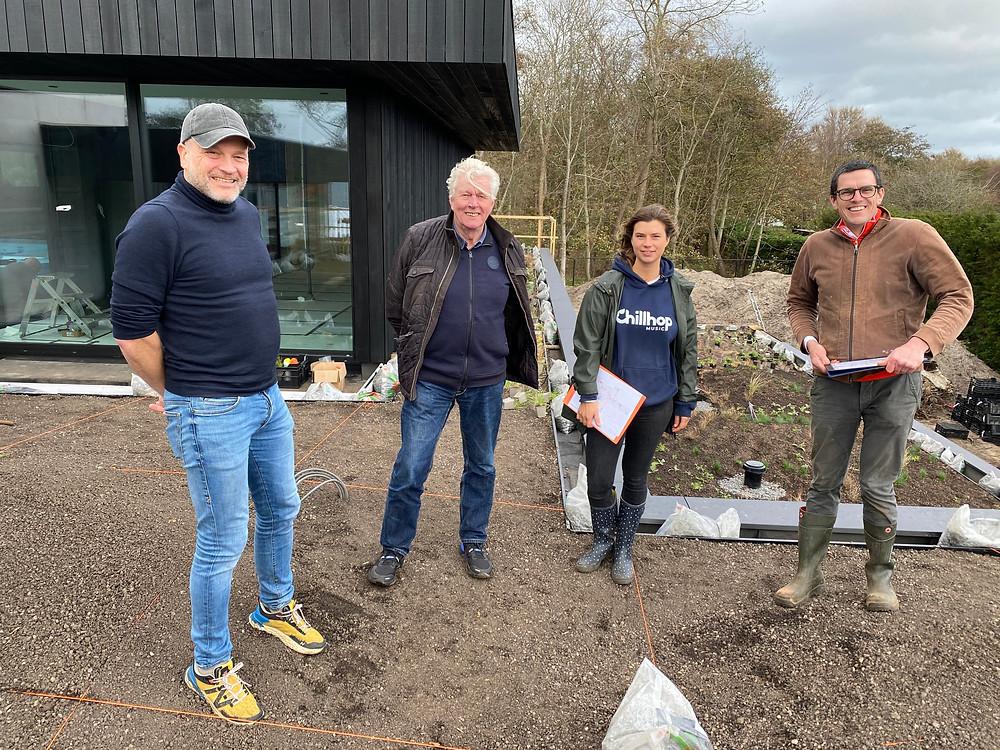 Tuinarchitect regio Rotterdam in samenwerking met Piet Oudolf en Tom de Witte, tuinarchitect Zeeland