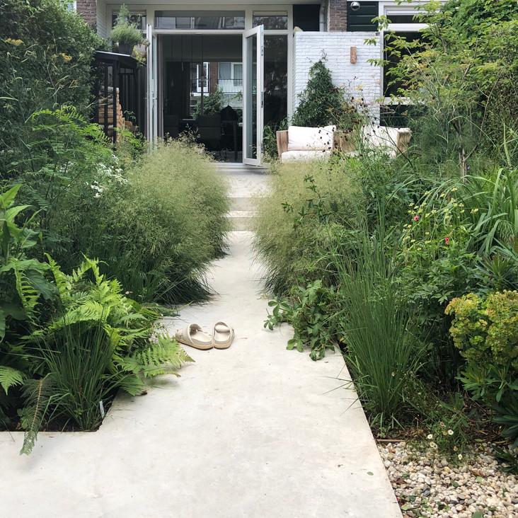De moderne, ecologische tuin  |   Rotterdam  |   75 m²