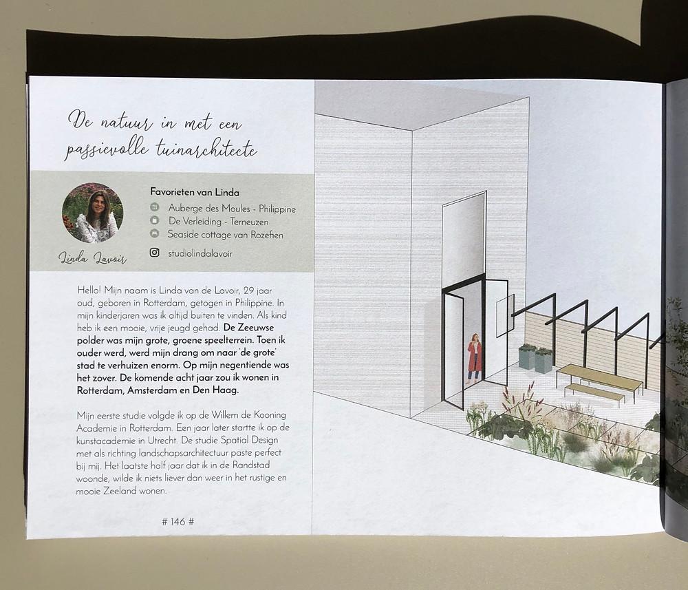 Interview tuinarchitect rotterdam, tuinarchitect zeeland, Studio Linda Lavoir, hello Zeeland
