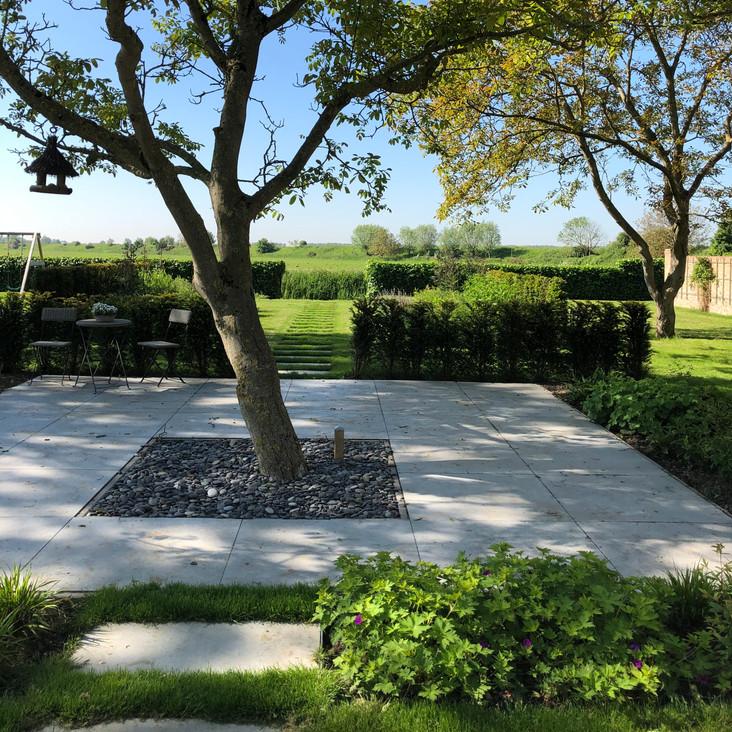 De landschappelijke tuin     Griete     3000 m²