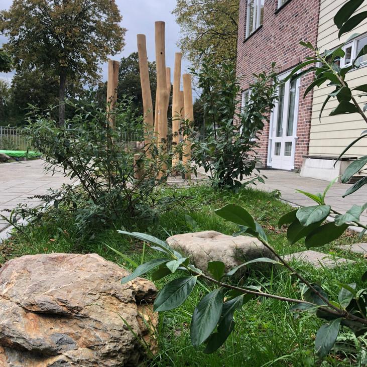 Het groene schoolplein  |  Terneuzen  | 1000 m²