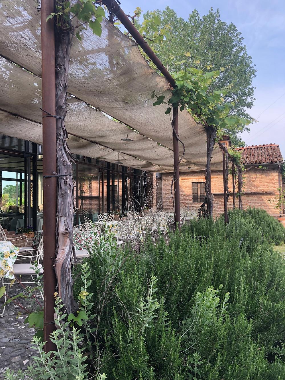 Inspiratie overkapping vakantie Italië tuinontwerper Studio Linda Lavoir