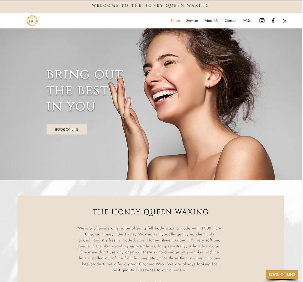 web design project image
