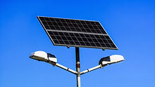 poste solar para iluminação - Transforme Soluções Energéticas