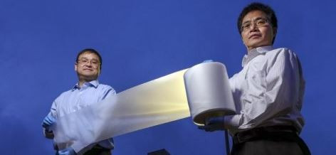 Criada Película de Plástico para Substituir Ar-Condicionado