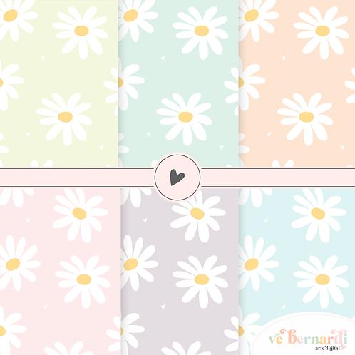 Kit Papel Digital Floral 02