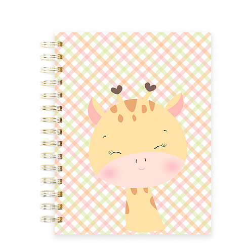 Miolo Caderno Girafinha - Licença Comercial