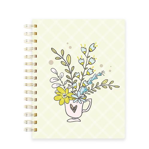 Caderno Pedidos  Floral - Licença Comercial