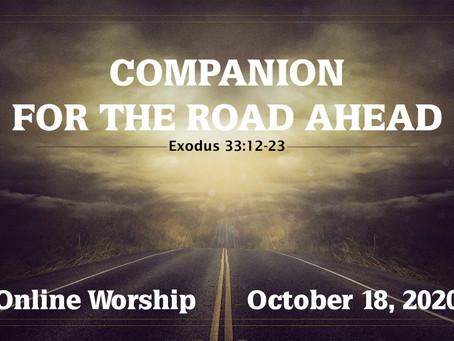 Worship for Sunday, Oct. 18, 2020