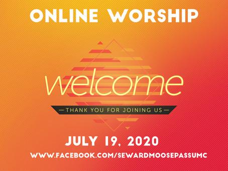 Worship -- July 19, 2020