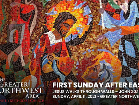 1st Sunday After Easter (April 11, 2021)