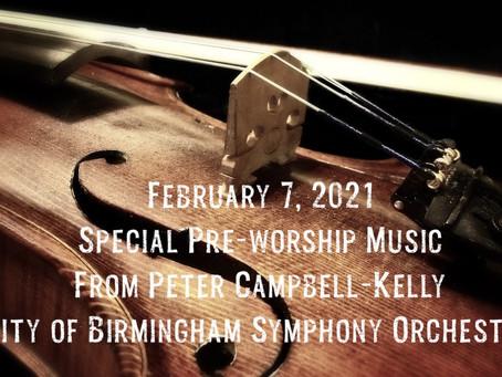 Special Pre-Worship Music -- Violin Sonata