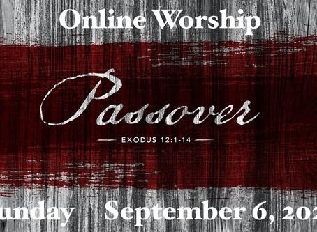 Worship -- September 6, 2020