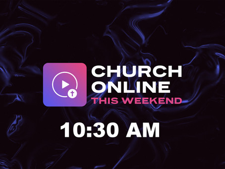 Online Worship 10:30 AM