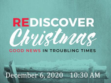 Second Sunday of Advent -- December 6, 2020