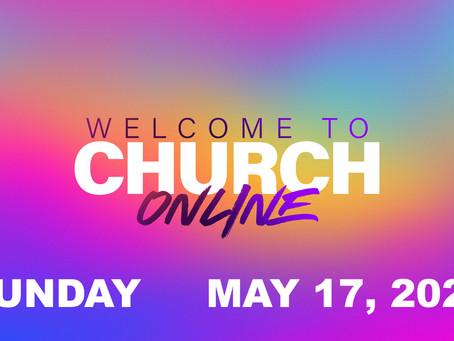 Online Worship May 17, 2020
