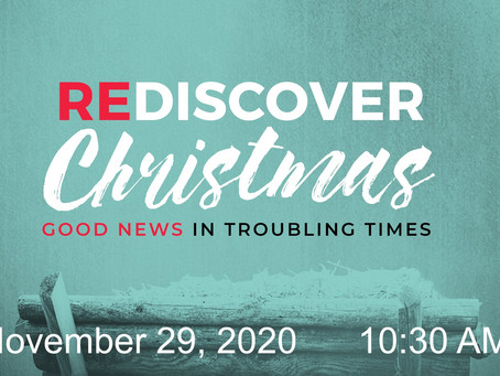 First Sunday of Advent -- November 29, 2020