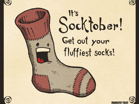 SOCKTOBER--Collecting socks
