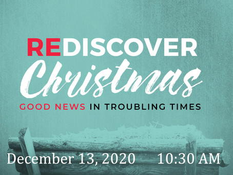 Third Sunday of Advent -- December 13, 2020