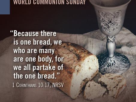 World Communion Sunday Offering
