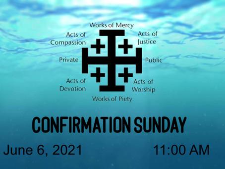 Confirmation Sunday Worship