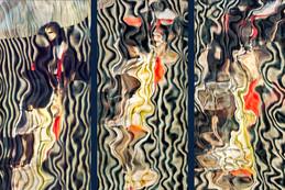 RÉFLEXION Nº 2 (triptych)