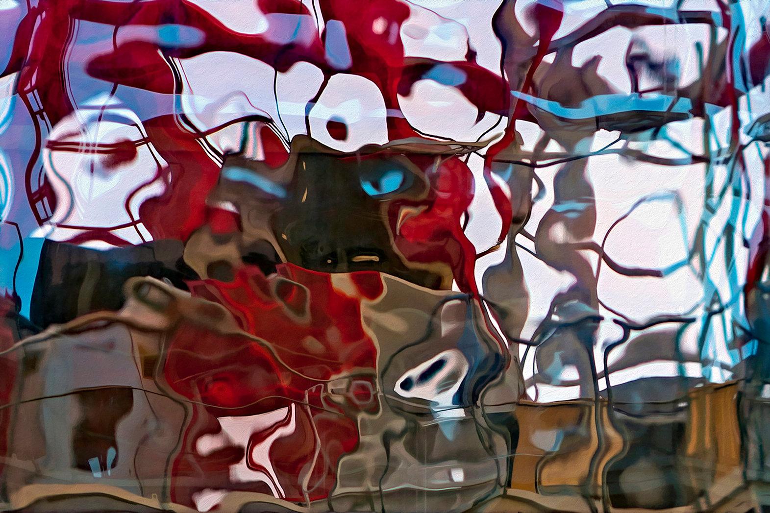 RÉFLEXION Nº 90  Photographie d'art grand format par Denis Eugène Robert sur TRAGART