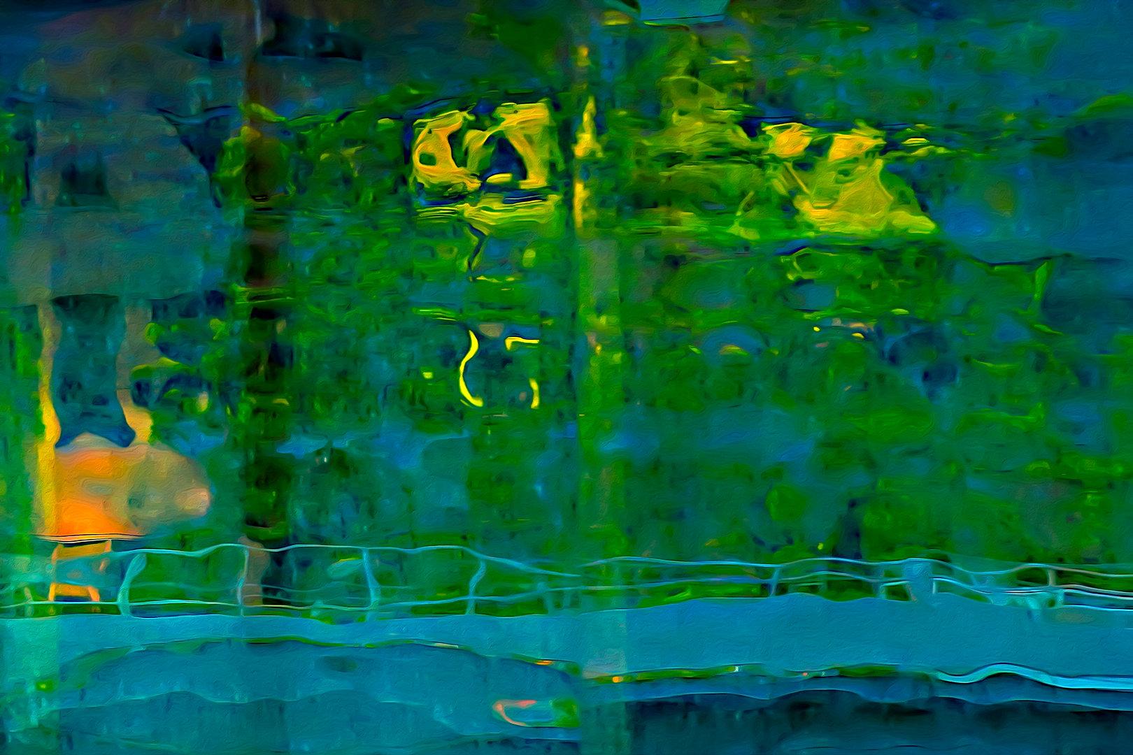 RÉFLEXION Nº 87  Photographie d'art grand format par Denis Eugène Robert sur TRAGART